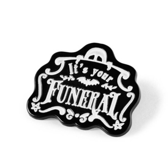 Pins KILLSTAR - Funeral Enamel, KILLSTAR