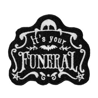 Patch (applique) KILLSTAR - Funeral, KILLSTAR