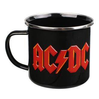 Mug en émail AC / DC - Logo, NNM, AC-DC