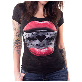 t-shirt hardcore pour femmes - RAZOR LIPS - LETHAL THREAT, LETHAL THREAT