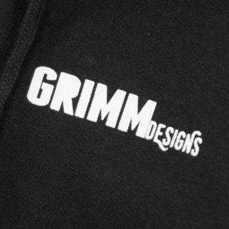 sweat-shirt avec capuche unisexe - BILLY THE BIKER - GRIMM DESIGNS