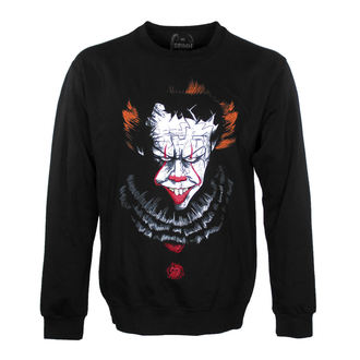 sweat-shirt sans capuche unisexe - DANCING CLOWN - GRIMM DESIGNS, GRIMM DESIGNS