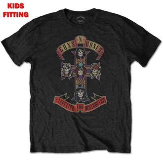 tee-shirt métal enfants Guns N' Roses - Appetite For Destruction - ROCK OFF, ROCK OFF, Guns N' Roses