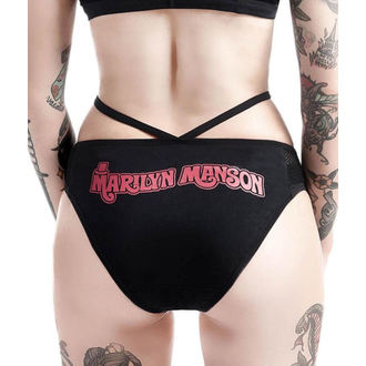 Culotte opur femmes KILLSTAR - Marilyn Manson - Golden Ticket - Noir, KILLSTAR, Marilyn Manson