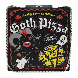 Sac à main (sac) KILLSTAR - Goth Pizza - NOIR, KILLSTAR
