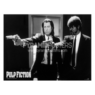 affiche - Pulp Fiction (B & W Guns) - GPP51003, PYRAMID POSTERS