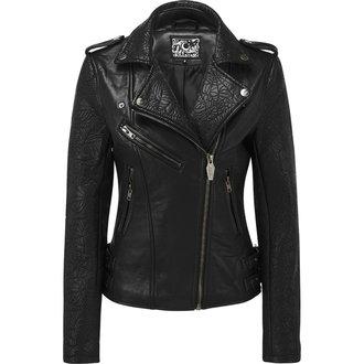 veste en cuir pour femmes - Graveyard Shift Biker - KILLSTAR