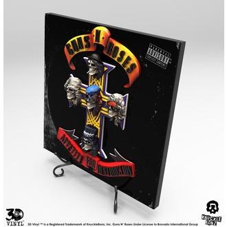Décoration Guns N' Roses - Appetite for Destruction, KNUCKLEBONZ, Guns N' Roses