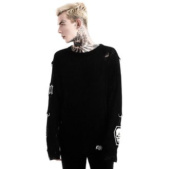 Chandail (unisexe) KILLSTAR - Haight You Knit - Noir, KILLSTAR