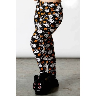 Pantalon pour femmes (pyjama) KILLSTAR - Haunted Pumpkin Lounge - Noir, KILLSTAR