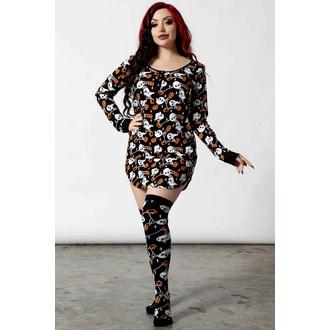 Pyjama (chemise de nuit) pour femmes KILLSTAR - Haunted Pumpkin - Noir, KILLSTAR