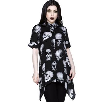 Chemise pour femmes KILLSTAR - Headache Button-Up - Noir, KILLSTAR