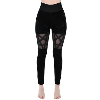 Leggings femmes KILLSTAR - HELLION - NOIR, KILLSTAR