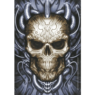 Drapeau Spiral Collection - Plugged Skull, SPIRAL
