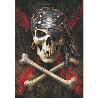 Drapeau Anne Stokes - Pirate Skull, ANNE STOKES