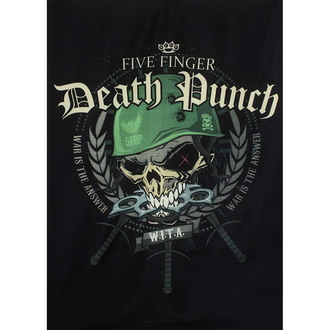 Drapeau Five Finger Death Punch, HEART ROCK, Five Finger Death Punch