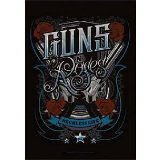 Drapeau Guns N' Roses - Recklesslife, HEART ROCK, Guns N' Roses