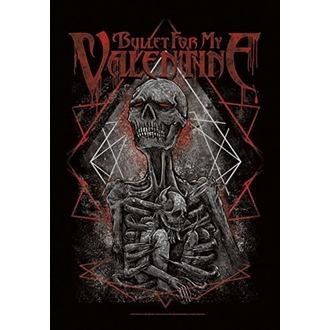Drapeau Bullet For my Valentine - Skeleton, HEART ROCK, Bullet For my Valentine