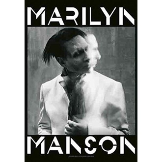 Drapeau Marilyn Manson - Seven Days Binge, HEART ROCK, Marilyn Manson