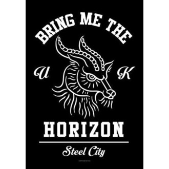Drapeau Bring Me the Horizon - Goat, HEART ROCK, Bring Me The Horizon