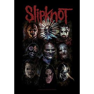 Drapeau Slipknot - Oxidized, HEART ROCK, Slipknot