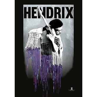 Drapeau Jimi Hendrix - Dripping, HEART ROCK, Jimi Hendrix