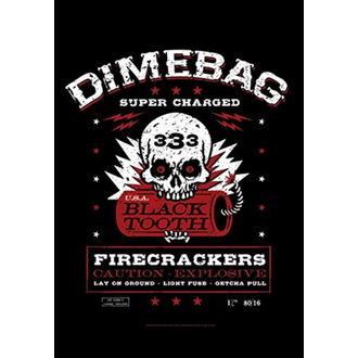 Drapeau Dimebag Darrel - Firecrackers, HEART ROCK, Dimebag Darrell