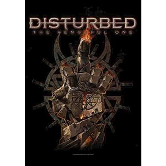 Drapeau Disturbed - The Vengeful One, HEART ROCK, Disturbed