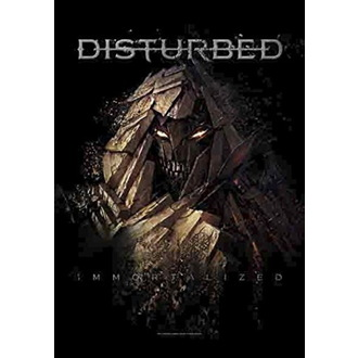 Drapeau Disturbed - Shattered, HEART ROCK, Disturbed