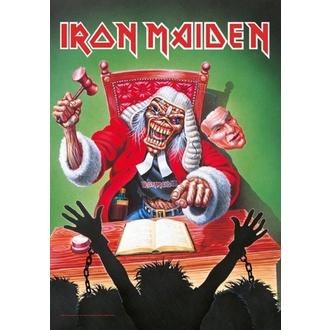 Drapeau Iron Maiden - 10 ans, HEART ROCK, Iron Maiden