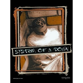 drapeau System Of A Down. HFL 581, HEART ROCK, System of a Down