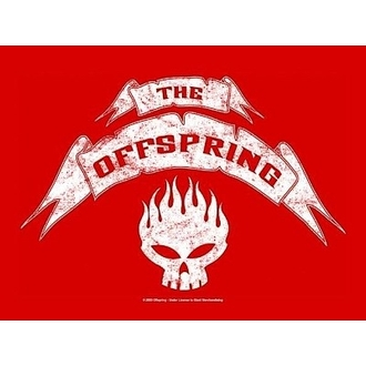drapeau Offsprings - Bannière, HEART ROCK, Offspring
