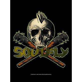 drapeau Soulfly - Skull, HEART ROCK, Soulfly