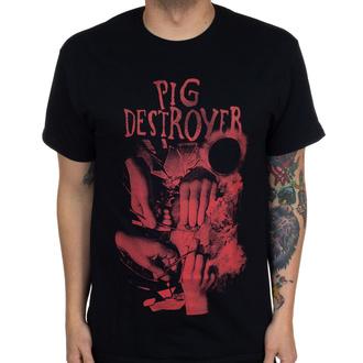 T-shirt Pig Destroyer pour hommes - Hands - Noir - INDIEMERCH, INDIEMERCH, Pig Destroyer