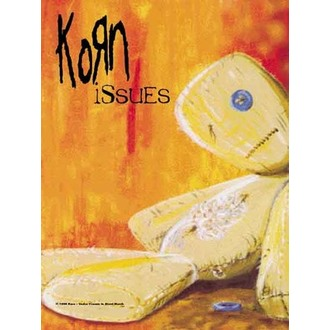 drapeau Korn - Questions, HEART ROCK, Korn