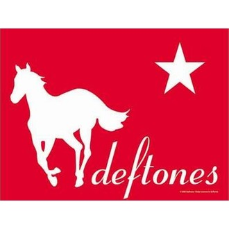 drapeau Deftones - Redpony, HEART ROCK, Deftones