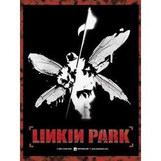 drapeau Linkin Parc - Hybrid Theory I Winged Soldier, HEART ROCK, Linkin Park