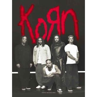 drapeau Korn - Hanger, HEART ROCK, Korn