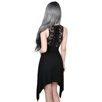 Robe femmes KILLSTAR - ILLUSION LACED UP - NOIR, KILLSTAR
