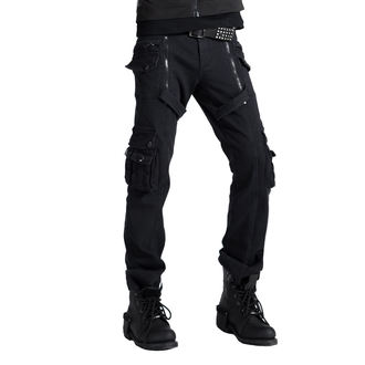 Pantalon hommes PUNK RAVE - Black, PUNK RAVE