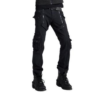 Pantalon hommes PUNK RAVE - Black