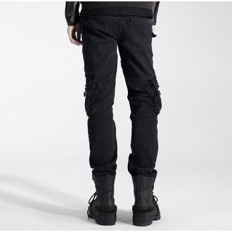 Pantalon hommes PUNK RAVE - Black, PUNK RAVE