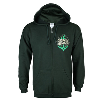 sweat-shirt avec capuche pour hommes Dropkick Murphys - Anchor Admat Green - KINGS ROAD, KINGS ROAD, Dropkick Murphys
