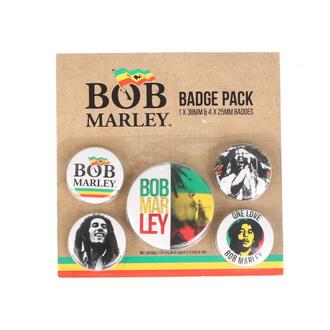 Badges - Bob Marley - PYRAMID POSTERS, PYRAMID POSTERS, Bob Marley