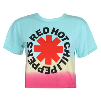 T-shirt RED HOT CHILI PEPPERS pour femmes - TEAL TO PINK - AMPLIFIED, AMPLIFIED, Red Hot Chili Peppers