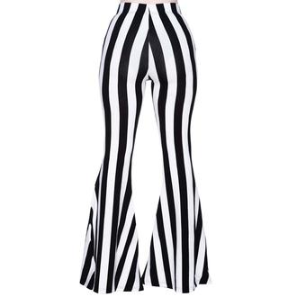 Pantalon pour femmes KILLSTAR - Inferno Room Flares - STRIPE, KILLSTAR