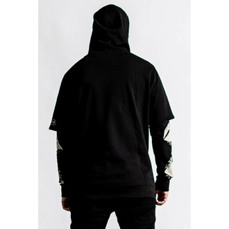 sweatshirt pour homme KILLSTAR - Insomnia Layer - noir - KSRA004309