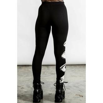Pantalon pour femmes (leggings) KILLSTAR - Insomnia - noir, KILLSTAR