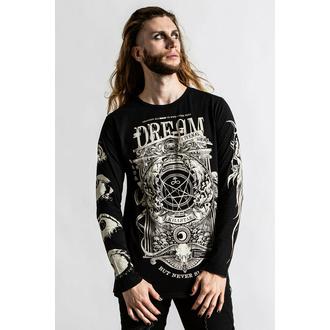 t-shirt pour homme manches longues KILLSTAR - Insomnia - noir, KILLSTAR