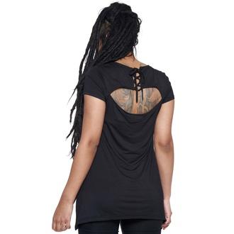 T-shirt pour femmes KILLSTAR - I can't burn - NOIR, KILLSTAR